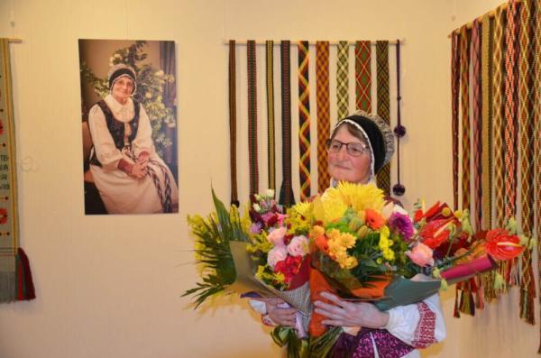 Jubiliejaus proga padėkota tautodailės tradicijų puoselėtojai O. Vilienei