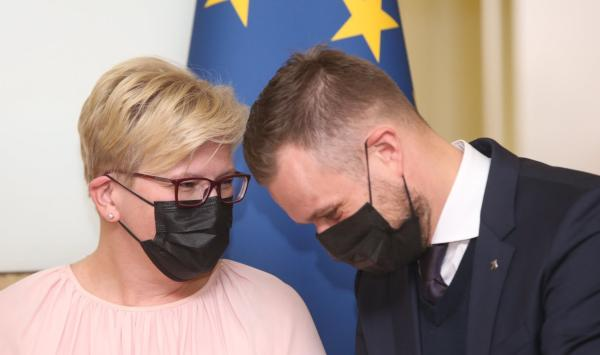 Sees a need to replace ministers, but Šimonytė might fear a chain reaction