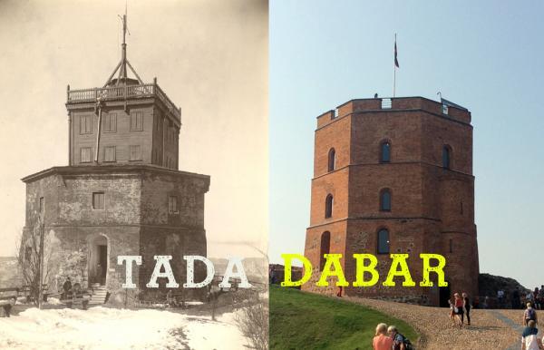 Vilnius senose fotografijose ir DABAR (2020)